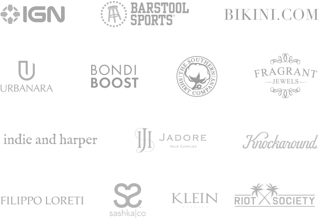 Top brand logos using Fera