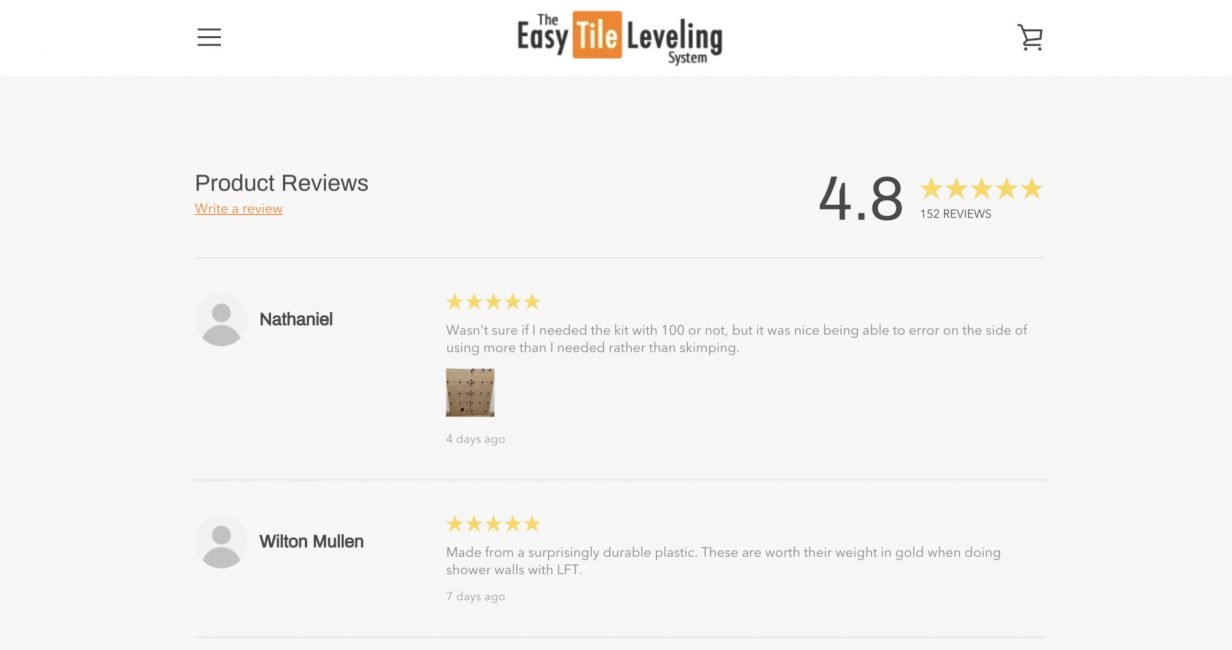 5. The Easy Tile Leveling Product Reviews